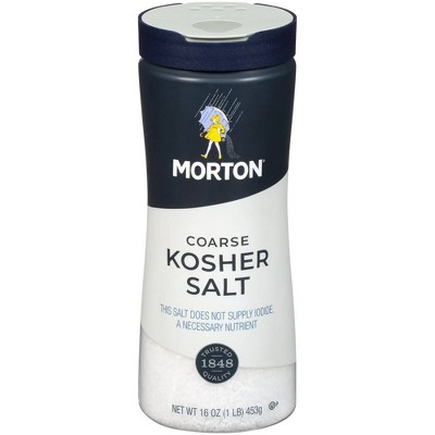 Morton Coarse Kosher Salt - 16oz.