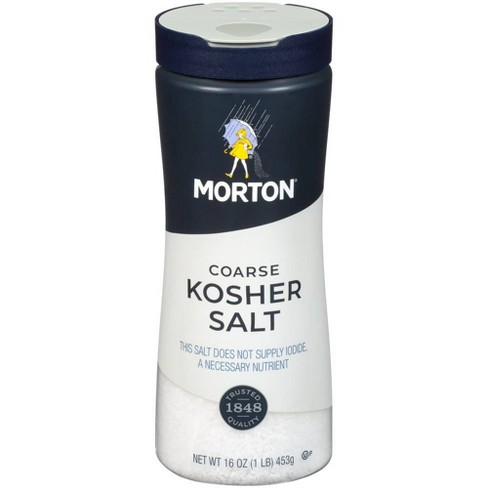 Morton Coarse Kosher Salt - 16oz. - image 1 of 4
