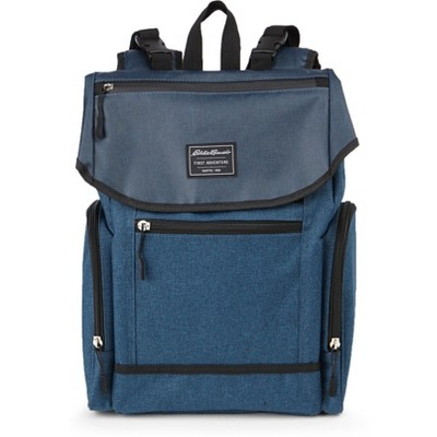 Eddie Bauer Echo Places & Spaces Back Pack Diaper Bag - Navy