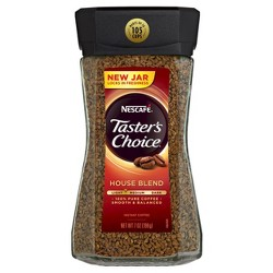 Nescaf Taster's Choice House Blend Light Roast Instant Coffee - 7oz