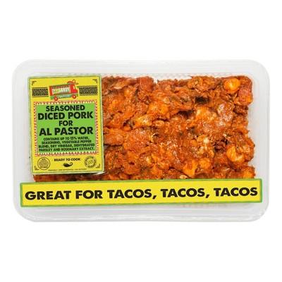 Calle Sabor Taqueria Style Diced Pork Al Pastor - 1-1.75 lbs - price per lb