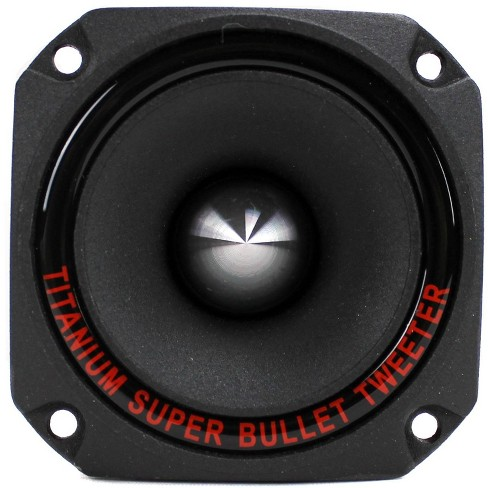 2 Pack Pyle Pro 1 Inch 300 Watt Heavy Duty Titanium Super Car Tweeter PDBT28