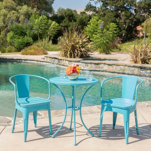 Colmar 3pc Cast Iron Patio Bistro Set - Christopher Knight Home - image 1 of 4