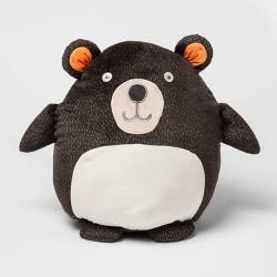 Bear Hide-A-Throw Pillow Buddy Red - Pillowfort™