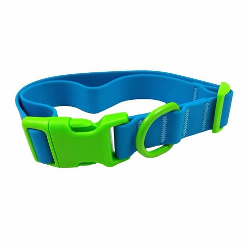 Solid Neon Silicone with Clip Buckle Dog Collar - Sun Squad™ - image 1 of 2