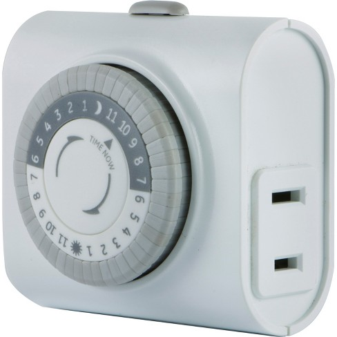 General Electric Indoor Mechanical Timer 24hr with 1 Outlet - image 1 of 4