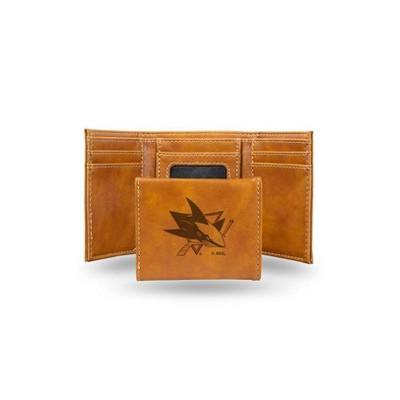 NHL Buffalo Sabres Leather Tri-fold Wallet