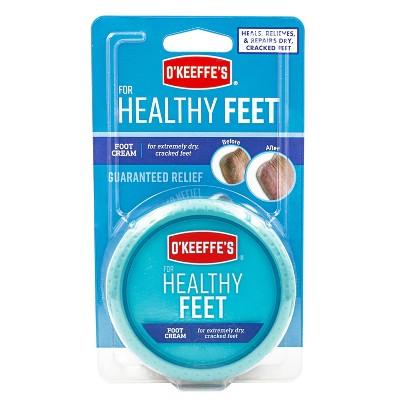 2.7oz O'Keeffe's Healthy Feet
