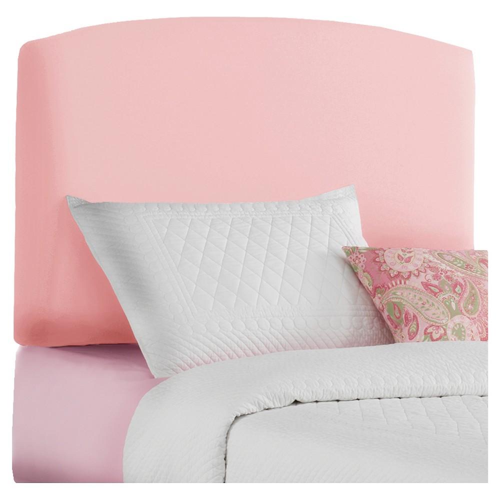 Full Kids Upholstered Headboard Light Pink - Pillowfort
