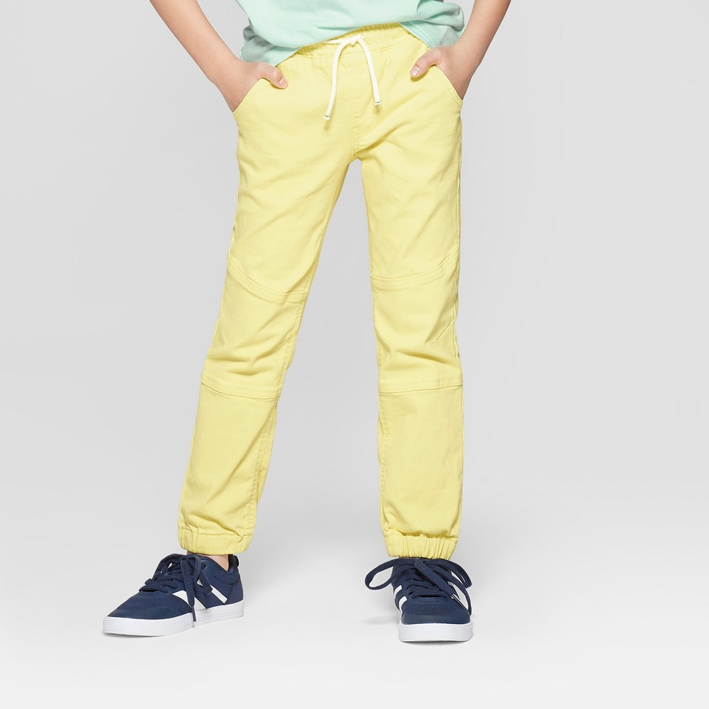 Boys' Skinny Jeans - Cat & Jack Yellow 8