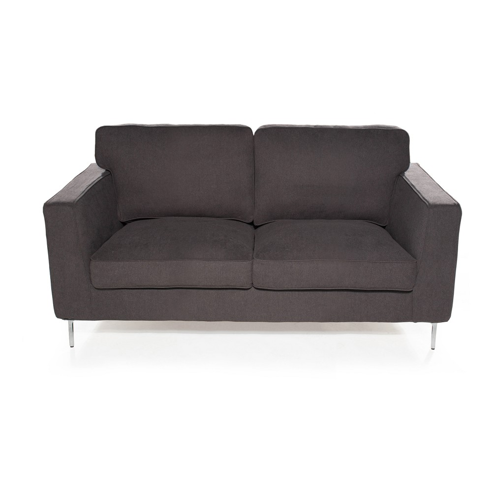 Cool Blake Loveseat Ash Grey Gray Sofas 2 Go Gmtry Best Dining Table And Chair Ideas Images Gmtryco