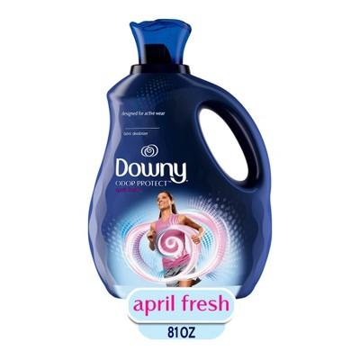 Downy Odor Protect April Fresh Fabric Deodorizer and Fabric Conditioner - 81 fl oz