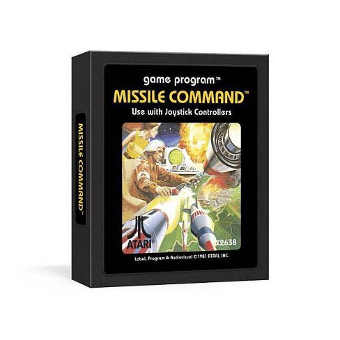 Missile Command Journal : The Atari 2600 Game Journal (Hardcover) - image 1 of 1