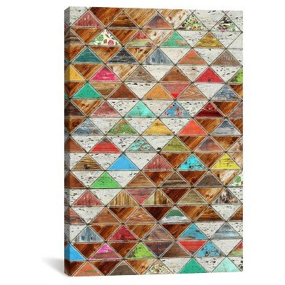 Love Pattern by Diego Tirigall Canvas Print (26 x 18 )