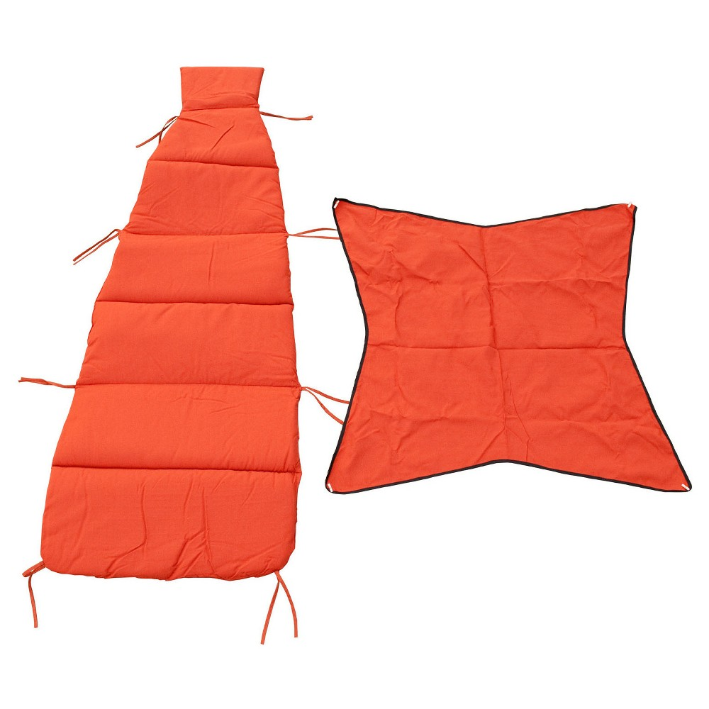 Image of Algoma Cloud-9 Replacement Cushion and Canopy Set - Orange