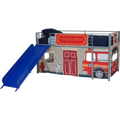 Twin Fire Department Bunk Bed Curtain Set - Dorel Home Products