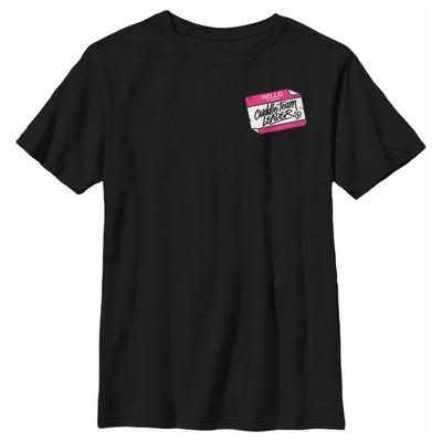 Boy's Fortnite Cuddle Name Tag T-Shirt