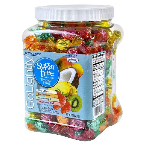 GoLightly Sugar-Free Tropical Fruit Hard Candies - 1.5lbs - image 1 of 1