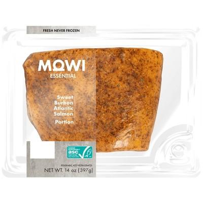 MOWI Fresh Sweet Burbon Atlantic Salmon Portion - 14oz
