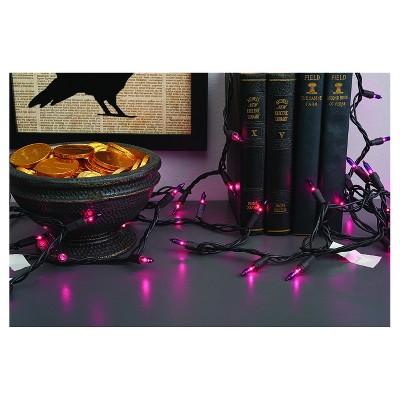 100ct Indoor/Outdoor Halloween Mini String Lights Purple - Hyde & EEK! Boutique™