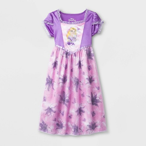 Toddler Girls' Disney Princess Fantasy Nightgown - Purple - image 1 of 1