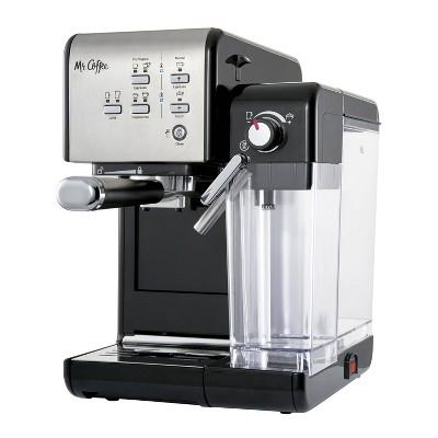 Mr. Coffee One-Touch Coffeehouse Espresso and Cappuccino Machine