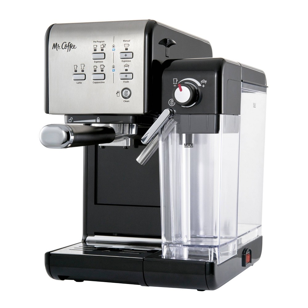 Image of Mr. Coffee One-Touch Coffeehouse Espresso and Cappuccino Machine