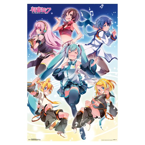 Hatsune Miku Group Poster 34x22 - Trends International - image 1 of 2