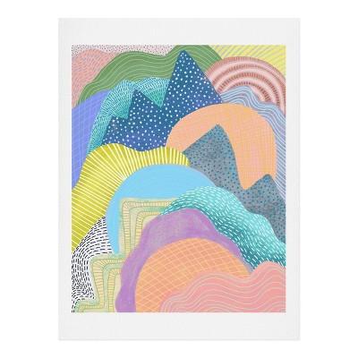 "8"" x 10"" Sewzinski Modern Landscape Unframed Wall Art - Deny Designs"