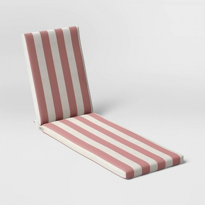 Cabana Stripe Outdoor Chaise Cushion DuraSeason Fabric™ - Threshold™