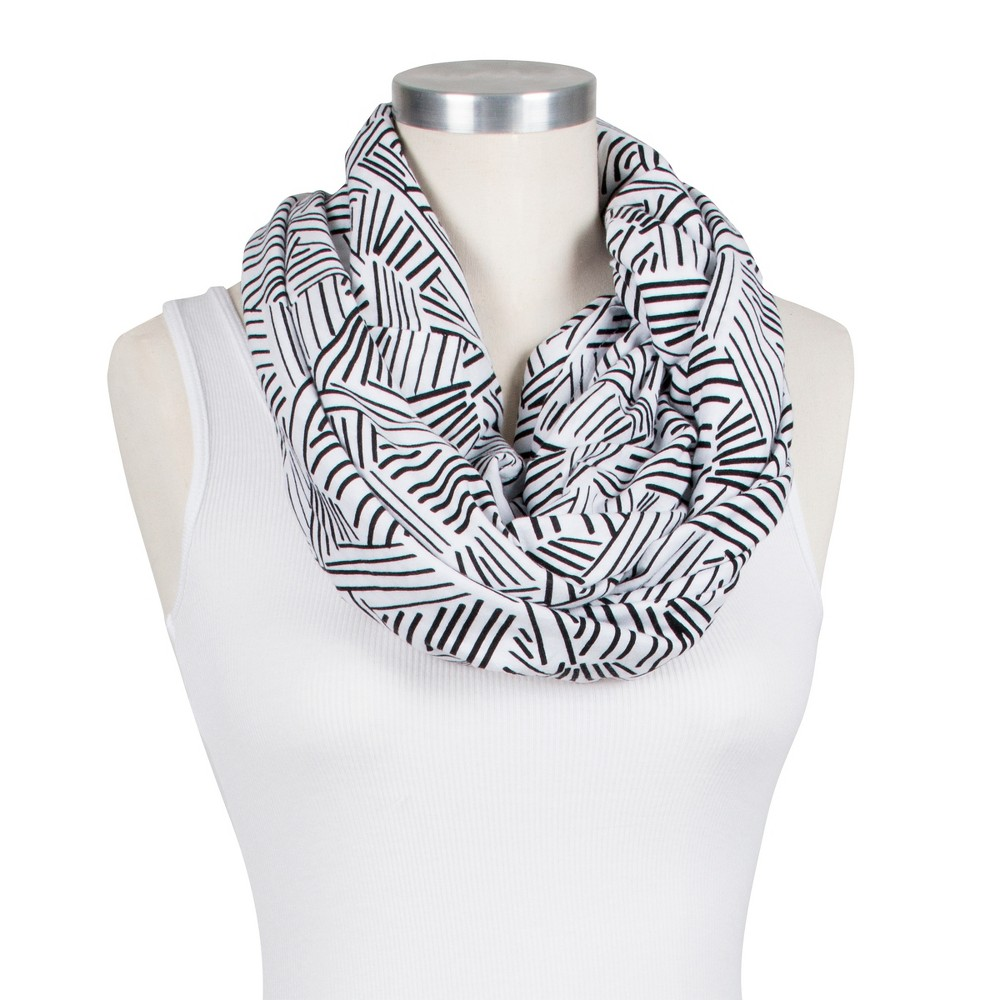 Image of Bebe Au Lait Premium Cotton Jersey Knit Nursing Scarf - Montauk, Black