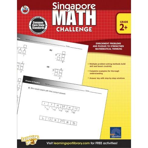 Singapore Math Challenge, Grades 2 - 5 - image 1 of 1