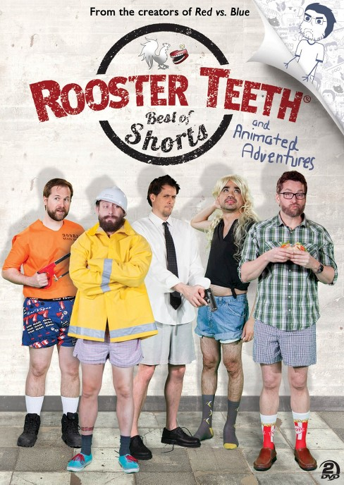 Rooster teeth:Best of rt shorts & ani (DVD) - image 1 of 1