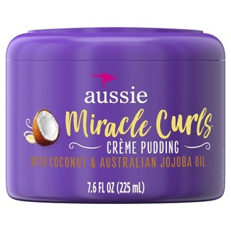 Aussie Miracle Curls Leave-In Cream Pudding - 7.6 Fl Oz : Target