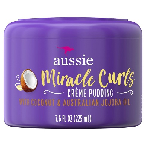 Aussie Miracle Curls Leave-In Cream Pudding - 7.6 fl oz - image 1 of 3