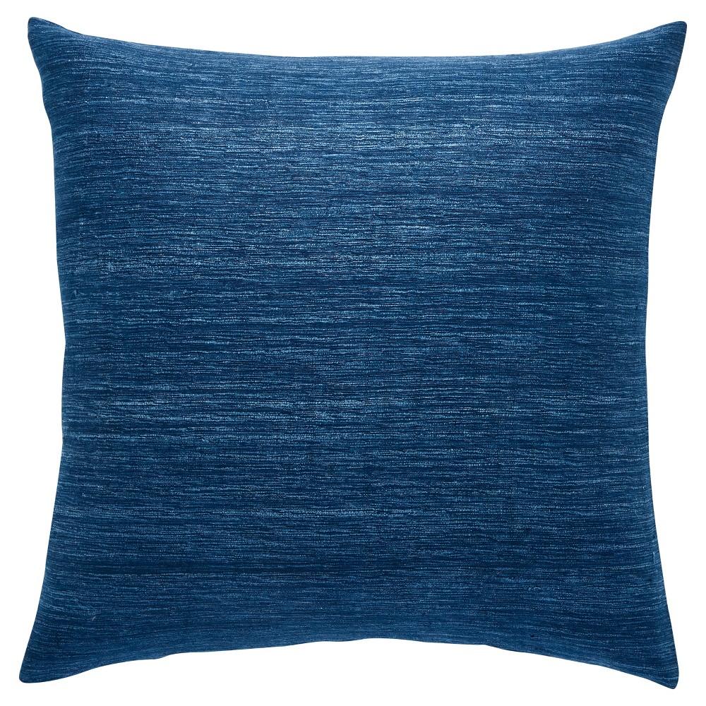 Blue Throw Pillow (50