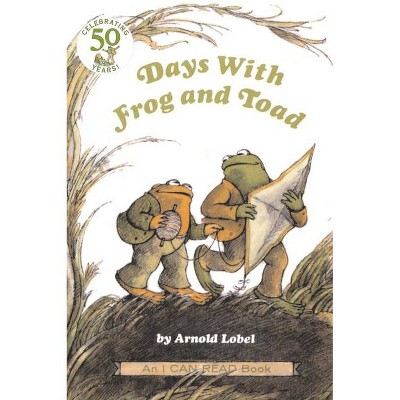Days with Frog and Toad - (I Can Read Books: Level 2) by  Arnold Lobel (Paperback)