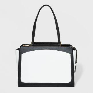 Dowel Tote Handbag - A New Day™ Black