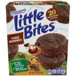 Entenmann's Little Bites Fudge Brownies - 5ct