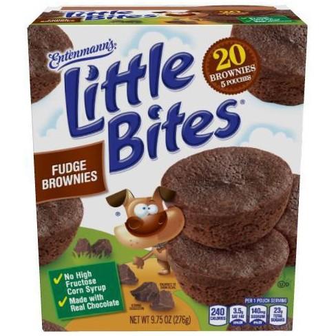 Entenmann's Little Bites Brownie Muffins - 8.25oz - image 1 of 4