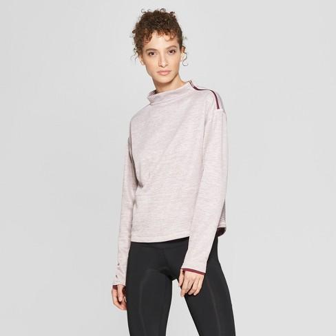 0c67065e8a8f Women s Tech Fleece Pullover - C9 Champion® Burgundy Sunset Heather ...