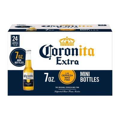 Corona Extra Coronita Lager Beer - 24pk/7 fl oz Bottles