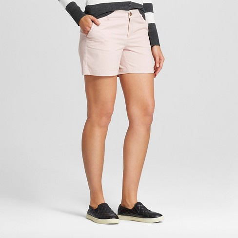 "Women's 5"" Chino Shorts - Merona™ - image 1 of 2"