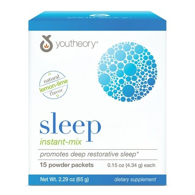 Youtheory Sleep Instant-Mix Powder Packets - 15ct