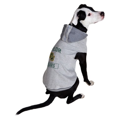 new product 1004b 0e4d3 Baylor Bears Little Earth Pet Hooded Crewneck Football Shirt - S
