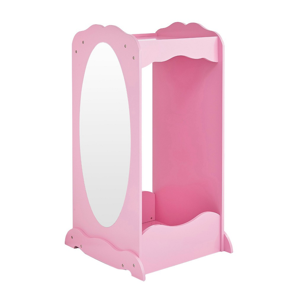 Image of Clothing Armoire Pink - Guidecraft, Gray