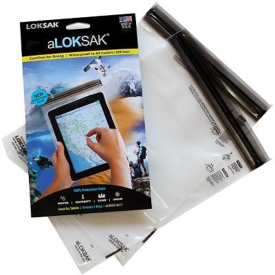 Loksak aLoksak Waterproof Re-Sealable Storage Bags (2 Pack)