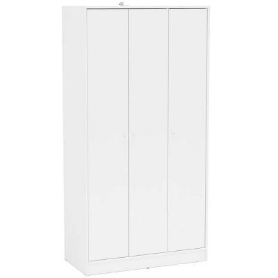 Cambridge 3 Door Wardrobe White - Chique
