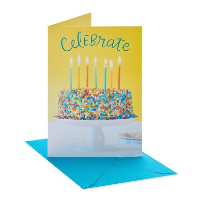 Birthday Card Celebrate