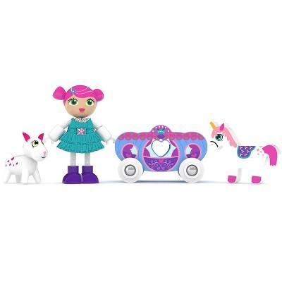 J'adore J'adore Princess Julie Natural Wooden Toy Playset